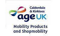 Age UK Calderdale and Kirklees Mobility Products and Shopmobility logo